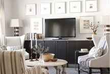 decorate around tv