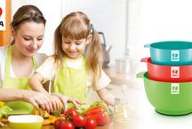 Cooking for kids? These are our tips! / Cooking for kids also means letting them join in. Some things they can do from quite an early age...