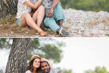 Séance couple Calanques / Une séance couple réalisée dans les calanques. Provence. Reportage par Fanny Tiara Photographie.