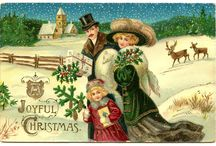 Vintage Christmas cards / by Janet Berry