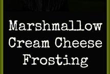 frosting de queso crema y bombon
