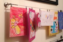 Kids Art Displays