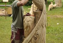 WOOD CARVING /  WOOD CARVING