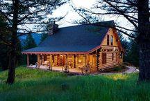 log homes and