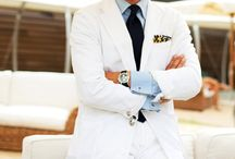 Menswear: White, Off White, Ivory, Creme ... / by Anthony