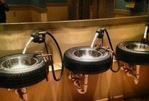 recycled car parts