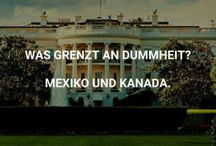 Donald Trump& andere Idioten