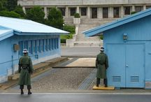 DMZ - Korean Demilitarized Zone, Panmunjom / These are some photos of my trip to South Korea I did in August 2012. Here you can see the DMZ (Korean Demilitarized Zone). This area is very dangerous but it's really exciting: two Koreas are still at war and here you can really see this. And also... You can get in North Korea for a few meters.