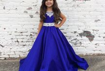 Little Girl's Pageant Dresses