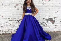 Little Girl's Pageant Dresses