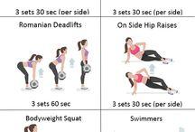 Ćwiczenia brzucha i pupy