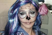 makeup skeleton Olivia