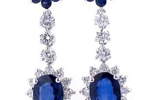 Blue Sapphire Jewelry AIG Appraisals / These items have been appraised in the Lab for clients of American International Gemologists.