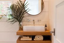 BATHROOMS / Bathroom decorating and re-dos
