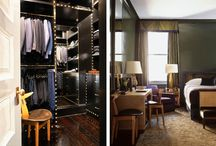 The Master Closet / Organized and Edgy