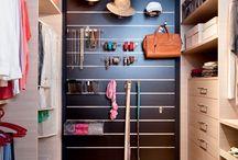 Closet organizados
