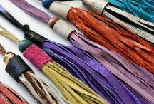 Quasten/tassels / DIYideas with selfmade tassels