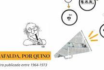 Mafalda / Es el nombre de una tira de prensa argentina desarrollada por el humorista gráfico Quino de 1964 a 1973. El dibujante argentino, padre de Mafalda, visitará Uruguay en el marco de la convención Montevideo Comics.