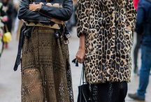 Street styles / mother daughter street style