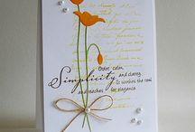 Kartki kwiaty / Kartki kwiaty
