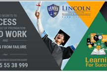 Success is the sum of small efforts.Please visit us https://www.lincoln-edu.ae