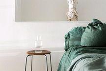 CREATE. Chambre neutre + vert