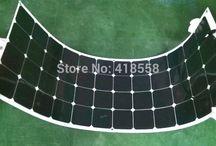 100w flexible solar panel / A grade solar cell sunpower solar cell 22% charging efficiency, free shipping!!!!!!!!1