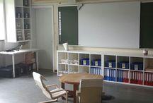 indretning indskolingen / klasselokale