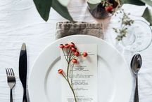Autumn berry wedding