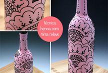 garrafa henna