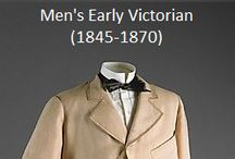 Historical Fashion ~ Men's Early Victorian (1845-1870)