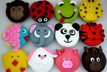 Animal cup cakes..