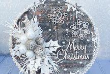 vánoční visačky