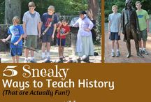 History Study Ideas / Homeschooling ideas for studying history.