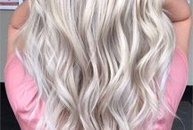 ice blonde-hair color