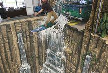 Art-Street Art-3D ART