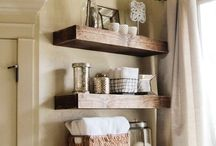 Home | Bathroom Space / by Tabitha Blue / Fresh Mommy Blog