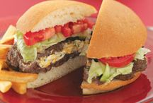 Burgers & snacks