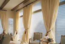 Home-Blinds, Curtains & Drapes / by GiovannaK