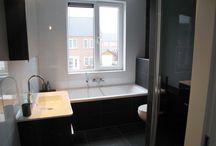 Moderne tijdloze badkamers