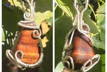 Wire Wraps / Hand made wire and crystal jewelry!