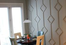 dining accent wall