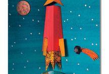 avaruus, raketti