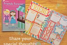 Friends Forever Fun Facts & Address Book, $12.95 / Get to know your friends with this awesome Fun Facts Journal! They will surely enjoy and will be delighted answering the questions on the adorably designed pages with a colorful candy theme! You will discover your friends' hobbies, dreams, talents and favorite things! Plus, it is also an Address Book wherein your chums can write their contact details so you can have their information handy! Enjoy! http://tinkerstar.com/product/jnl-0002-friends-forever-fun-facts-address-book/