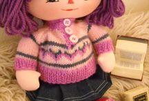 handmade dolls / beautifull rag dolls