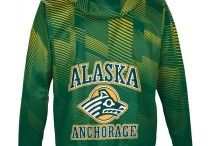 University of Alaska Anchorage / U of Alaska Anchorage Go Seawolves! Show off your school pride in our comfortable sweaters and shirts for men and women! Got spirit? See more at www.sportswearunlimited.com