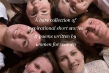 STORIES OF SHE BOOK / Created by 13 incredible women, Stories of She is a bare collection of tragic and heart-warming short stories and poems, written by women to inspire women. Raising money for Break & Nelson's Journey.