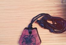 Personalised Wooden Pendants / Personalized Wooden Pendants made out of beautiful native recycled timber.