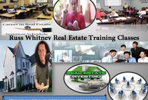 Russ Whitney Real Estate Training Classes / Real Estate Investing involves ownership, management, rental/sale of real estate for profit.