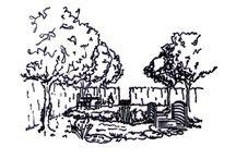Ландшафтные проекты и эскизы / Ландшафтные проекты. Эскизные планы загородных участков. Эскизы отдельных уголков сада.